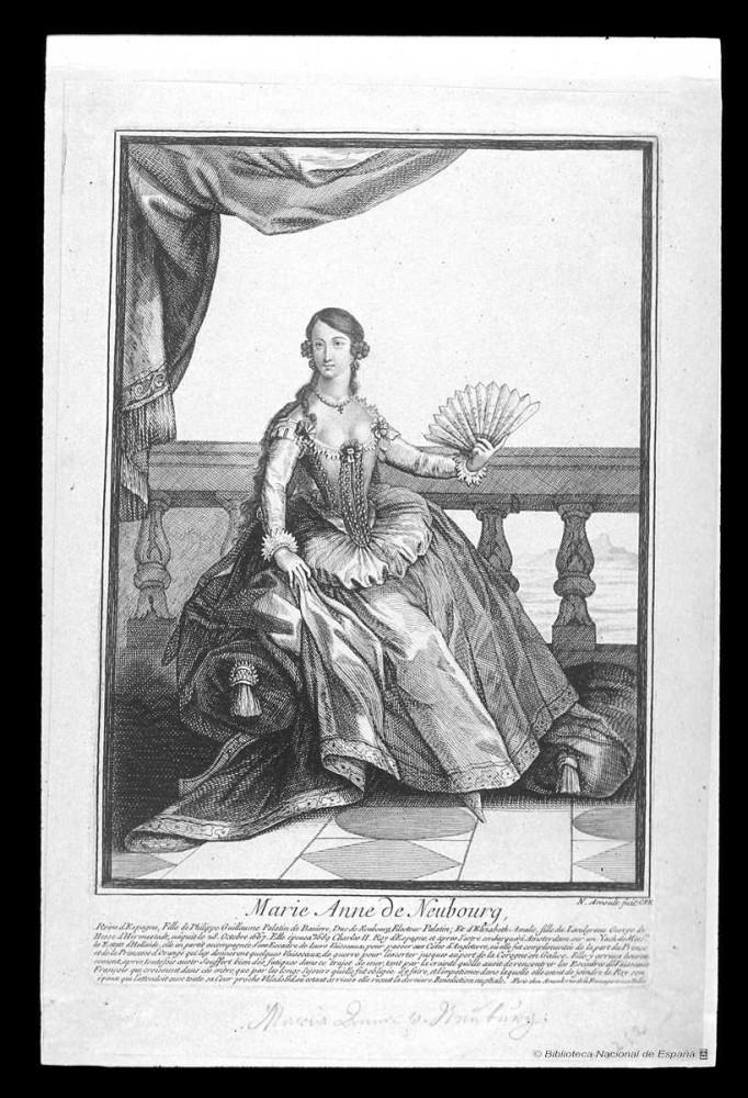 Retrato de Maria Ana de Neoburg