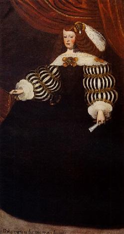 spanish-school-(17)-portrait-de-la-reine-marie-anne-dautriche,-femme-de-philippe-iv