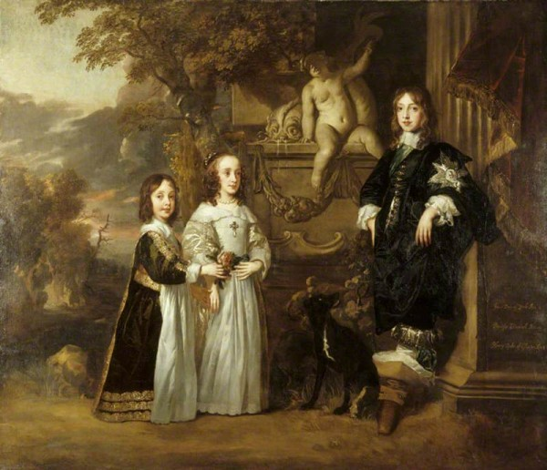 The_three_younger_children_of_Charles_I._by_Peter_Lely_1647