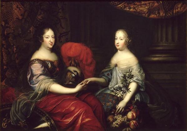 Anne_of_Austria_with_Queen_Marie_Thérèse_by_André_Simon_Renard_de_Saint