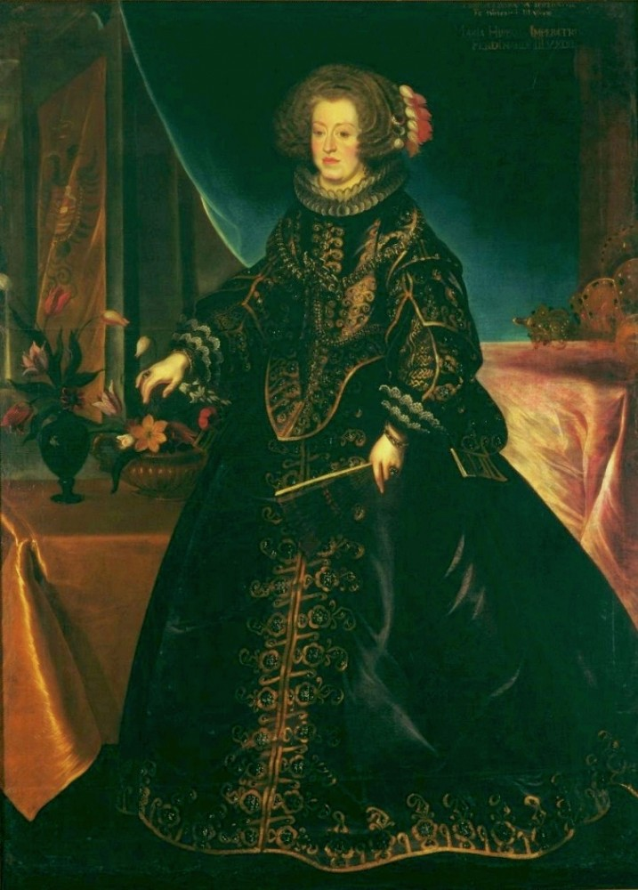 Luycx_Maria_Anna_of_Spain
