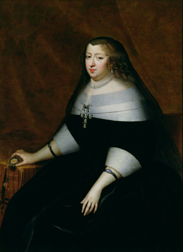 Anne_of_Austria_in_mourning_by_Charles_Beaubrun