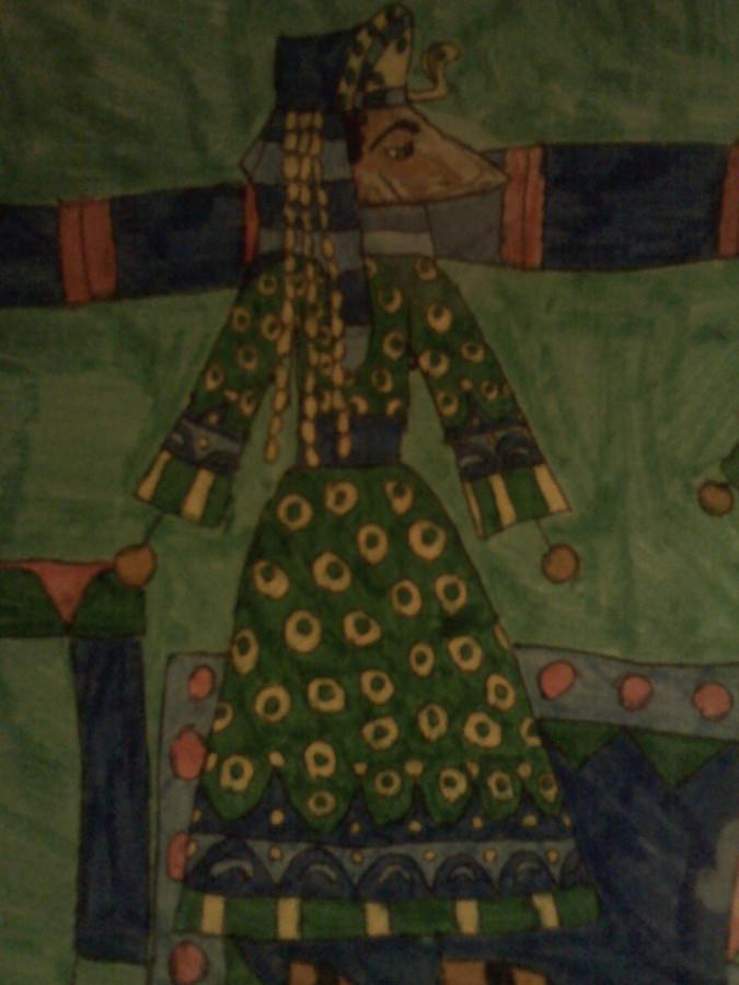 Мейр Агау в зелёном