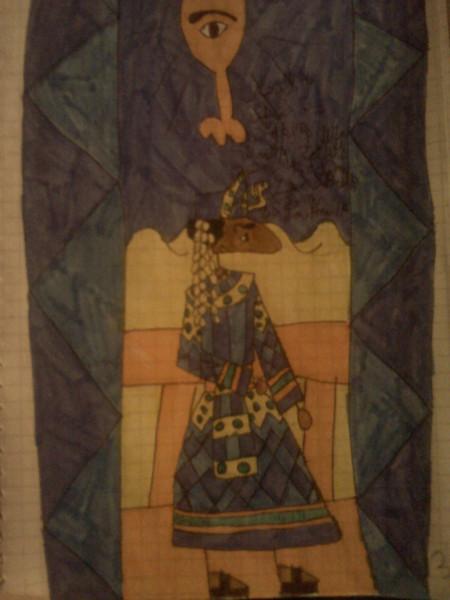 Адан в царском одеянии