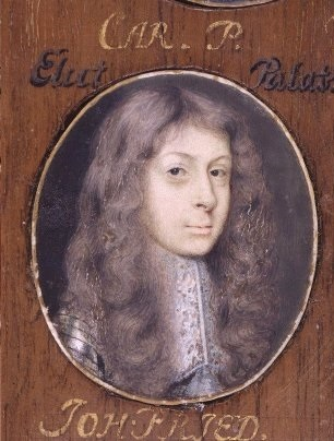 Carlos II del Palatinado y Guillermina Ernestina de Dinamarca — копия