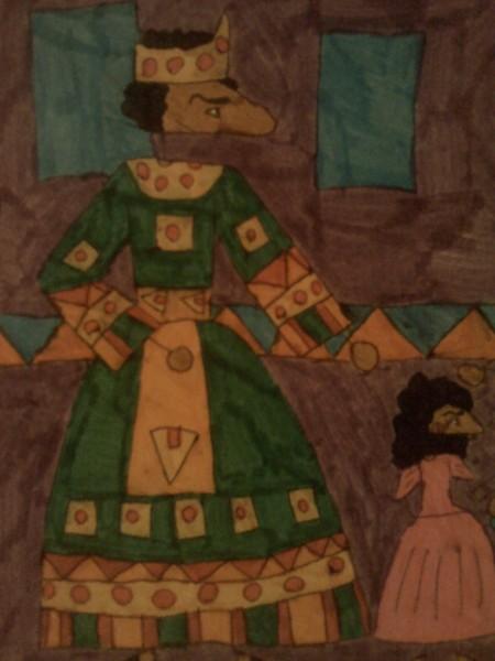 Адан с дочерью