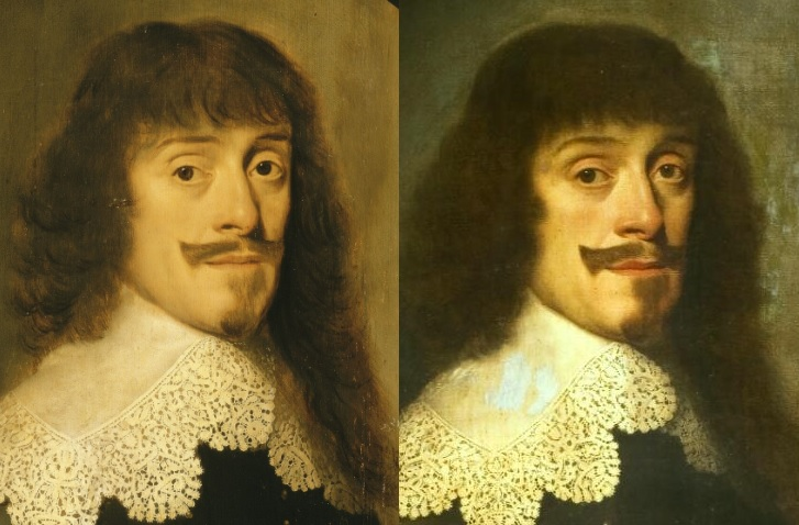 Portrait from Versailles and portrait from RKD