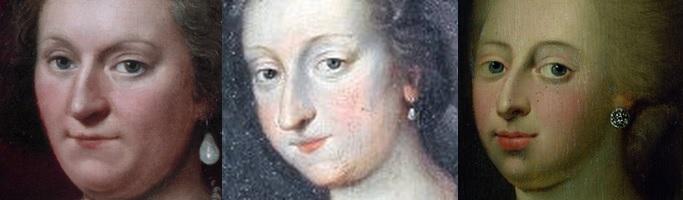 Sophie Hedwig - Anne Sophie - Caroline Mathilde von Zellux