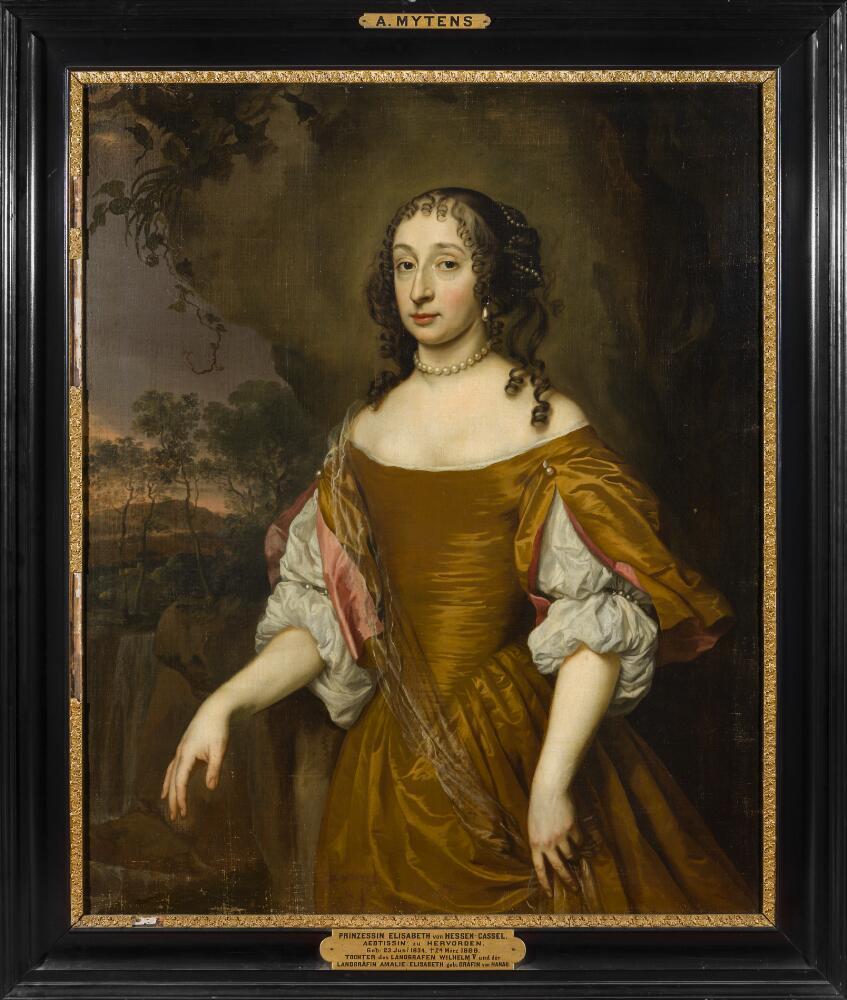 Принцы и принцессы на портретах работы Яна Мейтенса (1614 ...