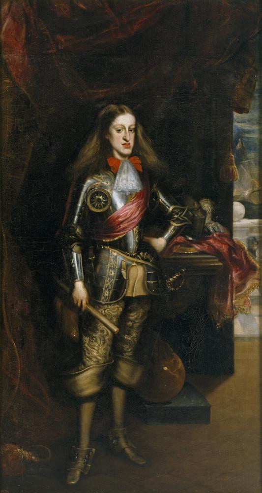 Карл II Испанский на портрете 1679 года