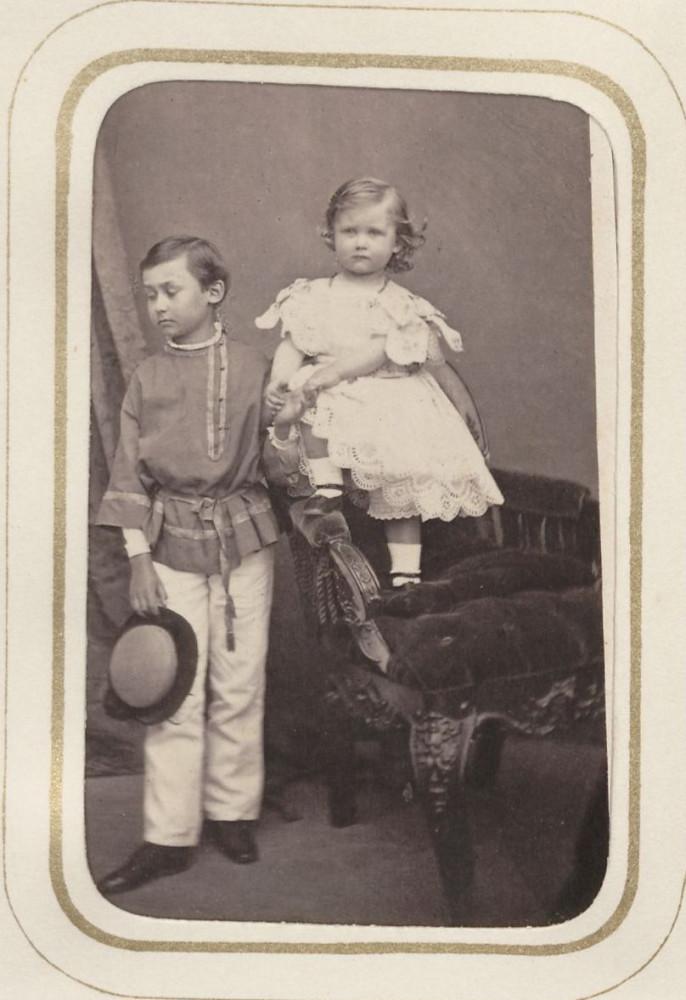 Wilhelm und Prinz Franz von Nassau