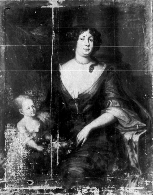 Ana Isabel y nino