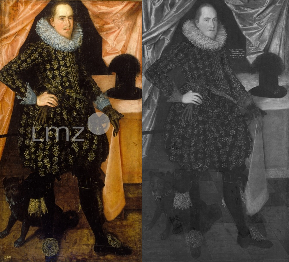 Zwei Bildnisse Friedrich Ulrich Braunschweig