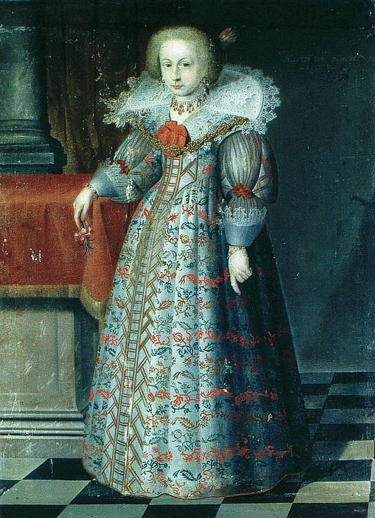 Bildnis der Elisabeth, Gräfin zu Fürstenberg 1628