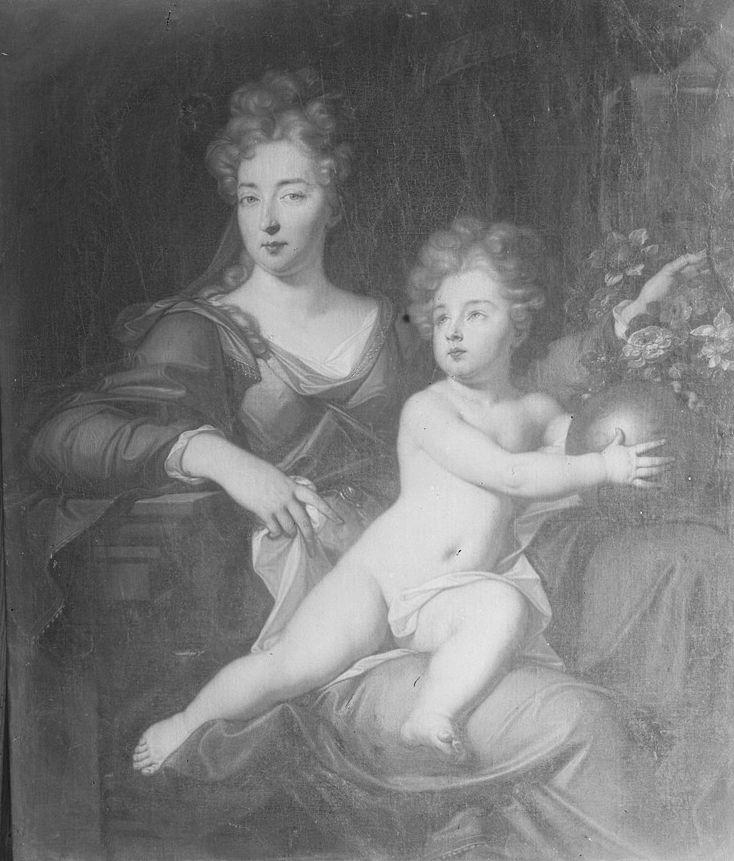 Eleonore Juliane und ihre sohn