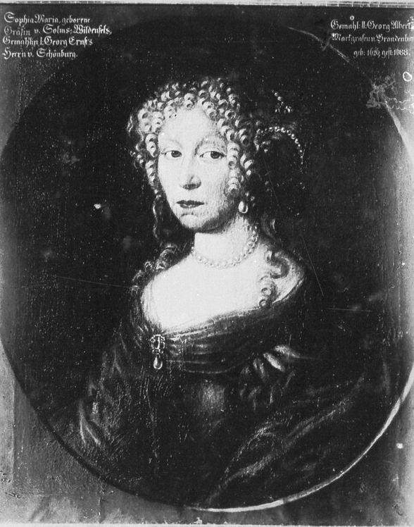 Sophie Marie von Solms-Baruth