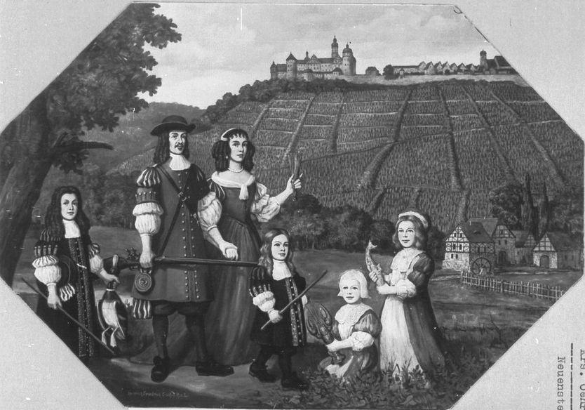 Juliane Dorothea Castell mit familie