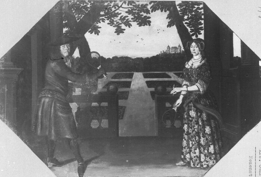 Sophia Amalia Nassau-Saarbrucken und gemahl