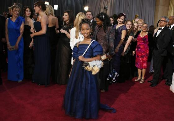 Quenzhane Wallis, best actress nominee for her role in Beasts of the Southern Wild