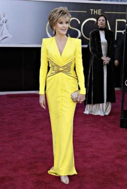 Two-time Oscars winner Jane Fonda