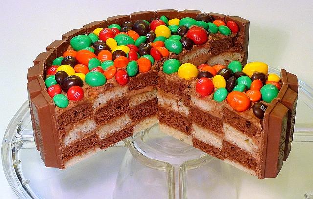 Шахматный торт - Кулинарные рецепты на 212.ru