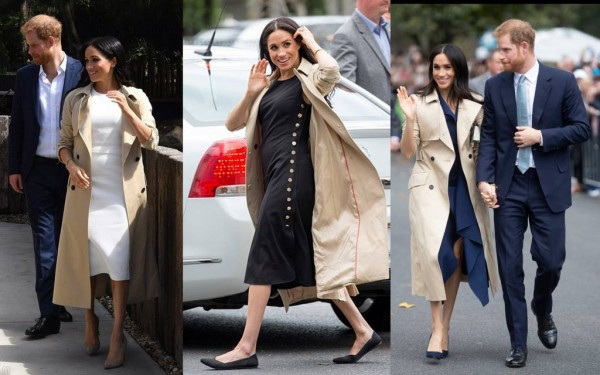 Коллекция пальто герцогини Сассекской