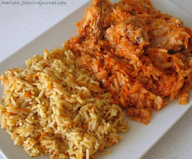 Как потушить капусту с рисом