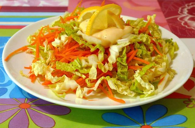Китайский салат из капусты рецепт