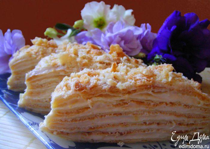 Как делать торт из заварного крема