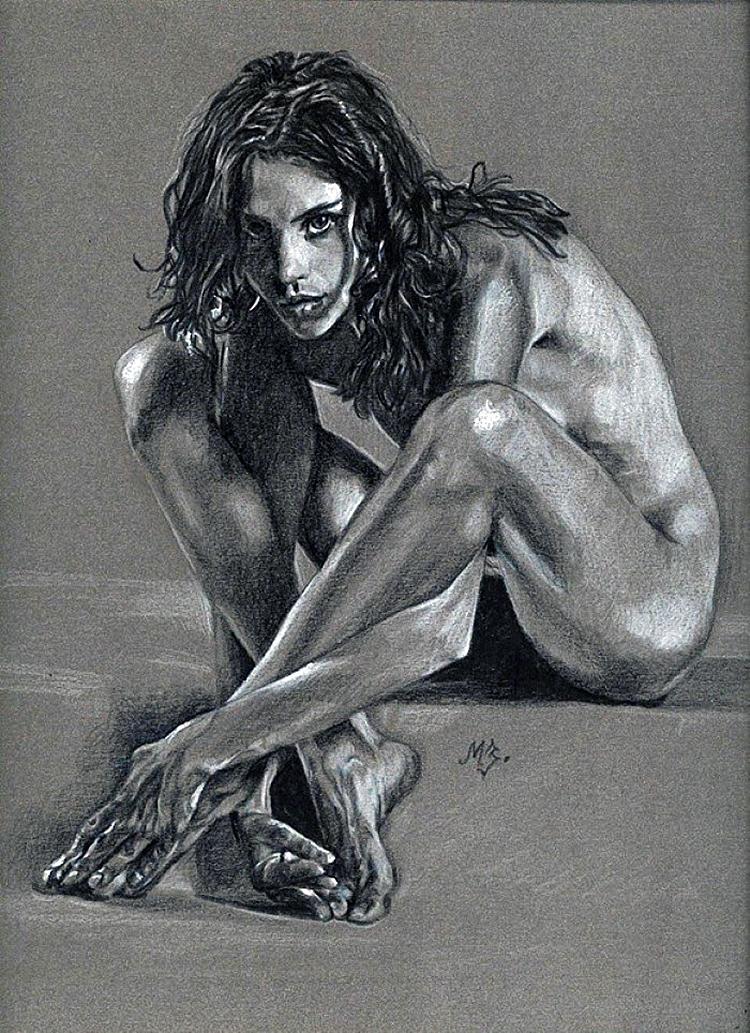 Рисуноки голых женшиг 21 фотография