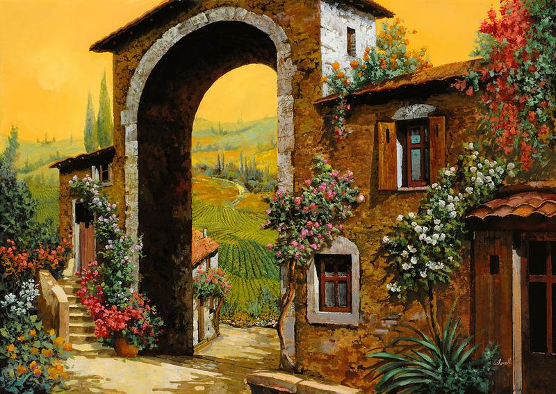 новым красивые картинки домиков в италии нет ничего