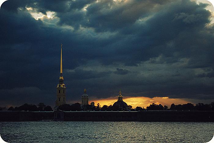 небо над петербургом