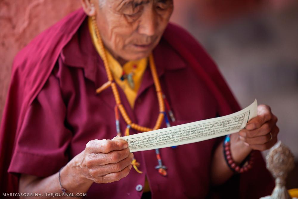 Bodhgaya Monks by Mariya Sogrina