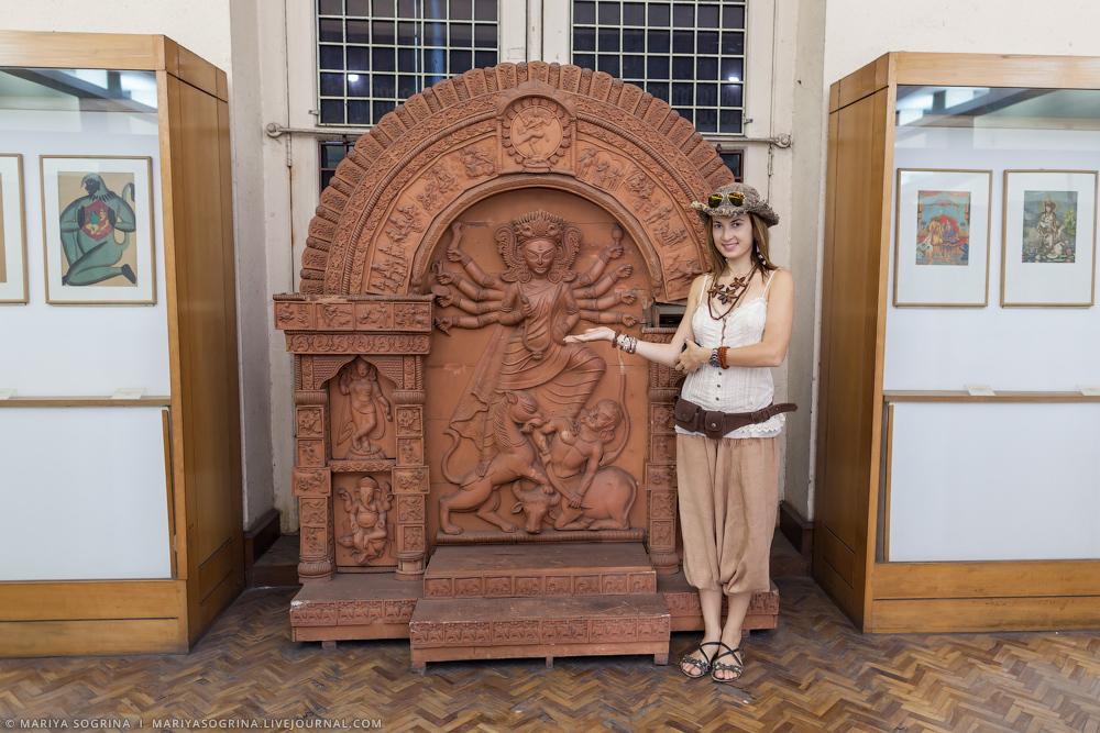 Mariya Sogrina Kolkata Museum-17