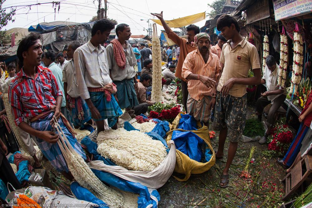 Mariya Sogrina Calcutta Flower Market-13