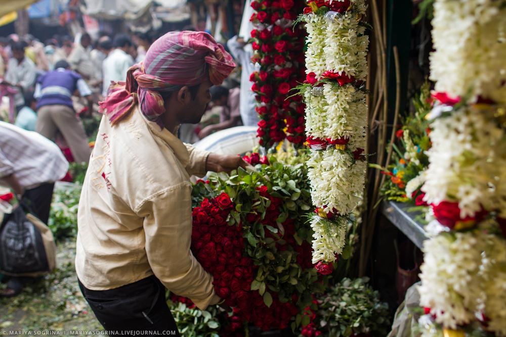 Mariya Sogrina Calcutta Flower Market-22