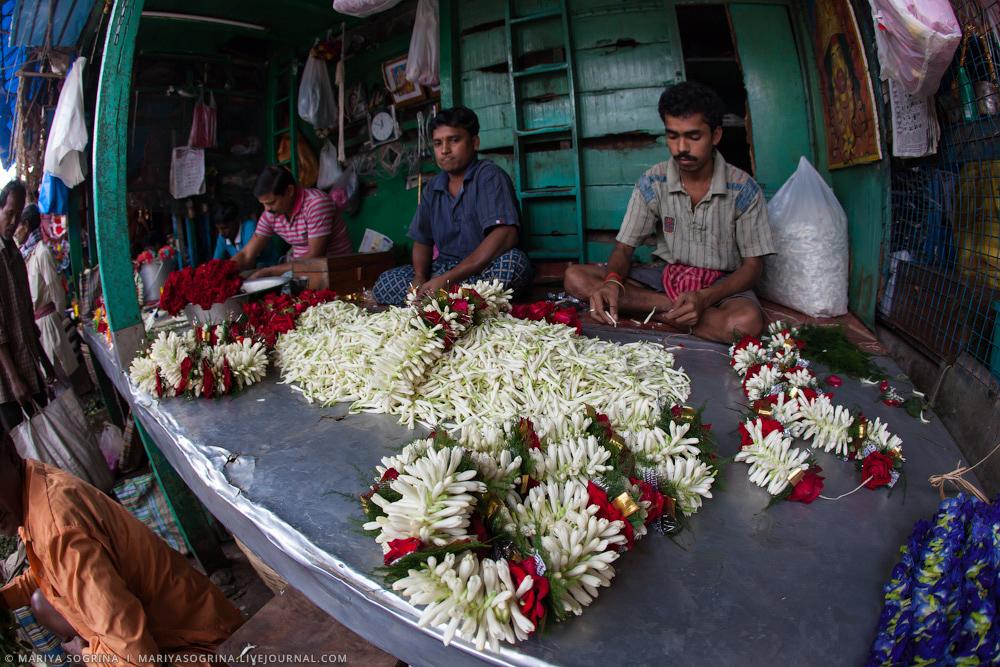 Mariya Sogrina Calcutta Flower Market-23