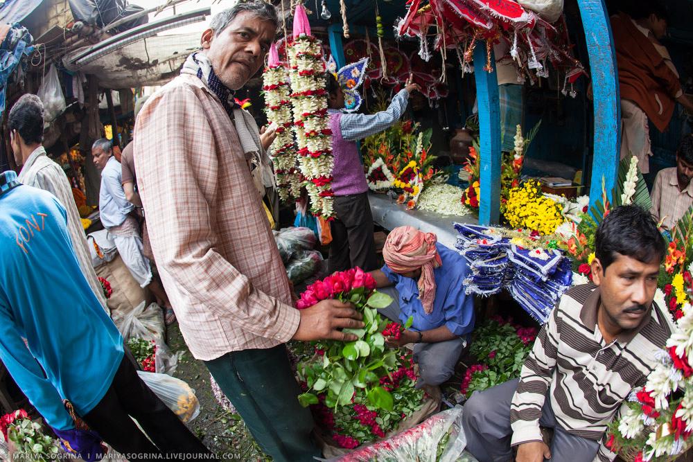 Mariya Sogrina Calcutta Flower Market-24