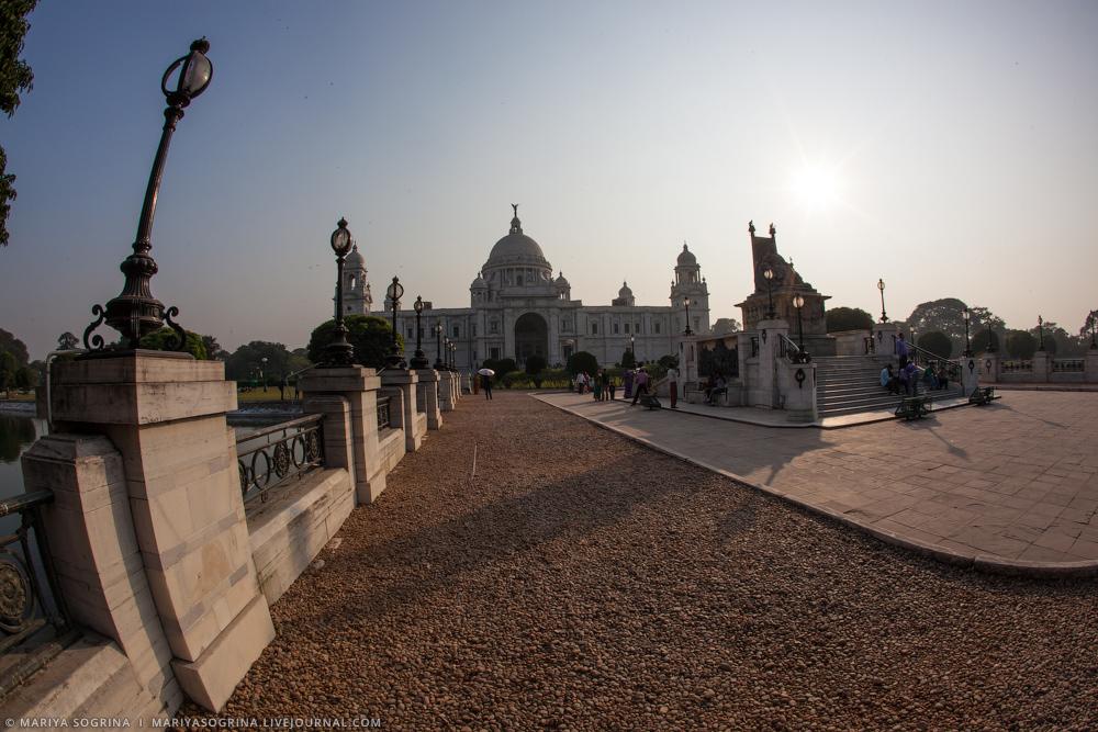 Mariya Sogrina Calcutta Victoria Memorial-2
