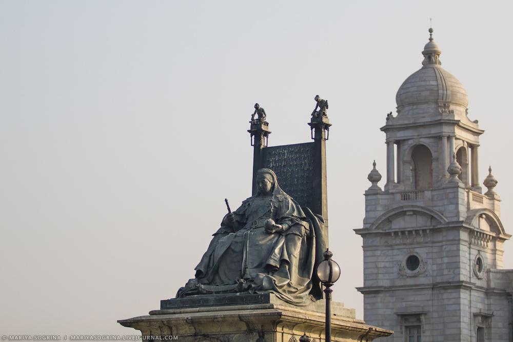 Mariya Sogrina Calcutta Victoria Memorial-3