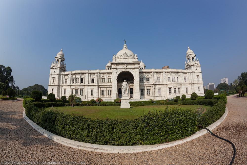 Mariya Sogrina Calcutta Victoria Memorial-19