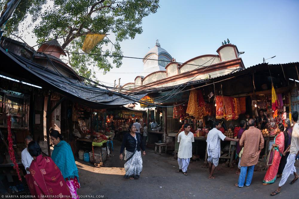 Mariya Sogrina Kali Ghat Kolkata India-11