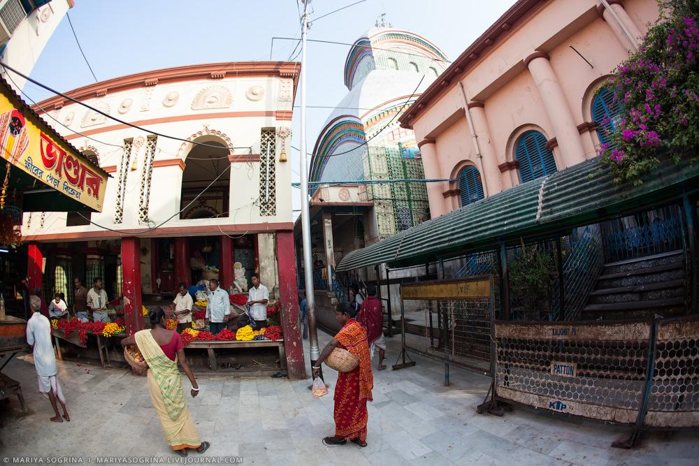 Mariya Sogrina Kali Ghat Kolkata India-15