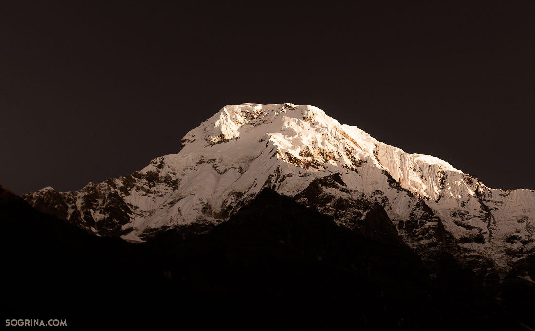Annapurna South Moonlight