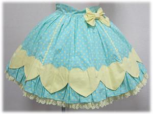ColorfulHeartSkirt-mint
