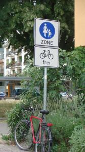 Sign bike