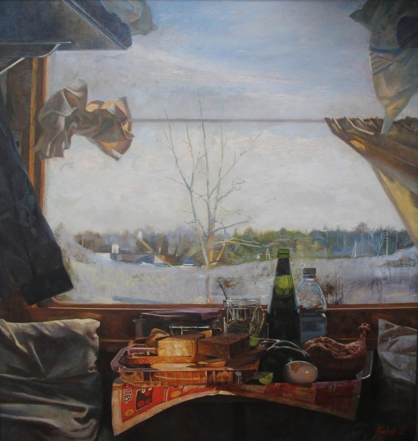 Анчуков Дмитрий «Обед в поезде», 2011