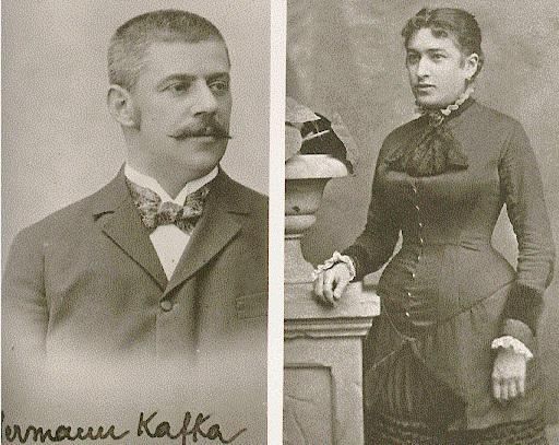 родители Ф. Кафки, Герман и Жюли Кафка