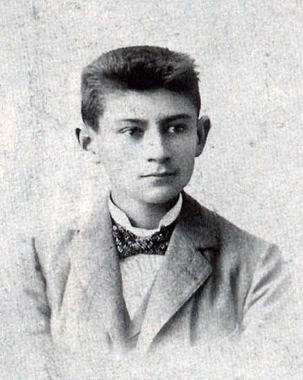 Кафка, около 1900 г.