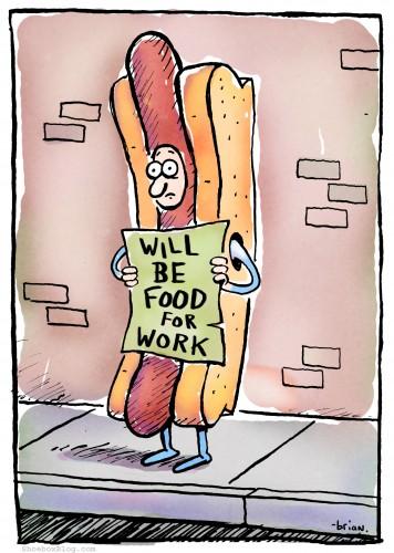 work for food ржака работа